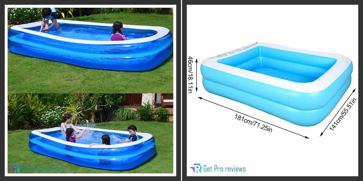 Intex 57190EP B01E0W4L58 Family Lounge Pool