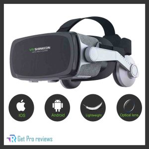 VIIVRIA 3D VR Virtual Reality Headset with Bluetooth Controller