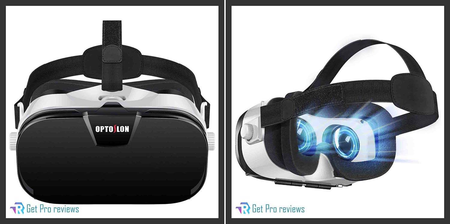 Virtual Reality Headset for Mobile gaming and videos