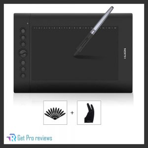 HUION H610PRO V2 10 x 6.25-inch Graphics Tablet Drawing