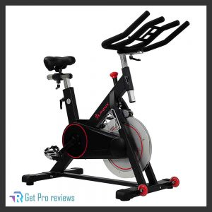 Sunny Health and Fitness Magnetic Belt Drive Indoor Cycling Bike