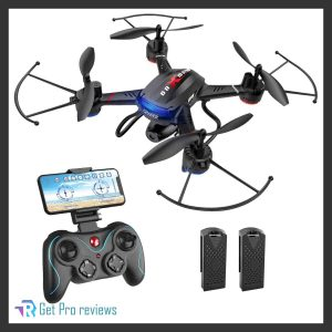 Holy Stone F181W 1080P WiFi FPV Drone with Wide-Angle HD Camera Live Video RC Quadcopter 0