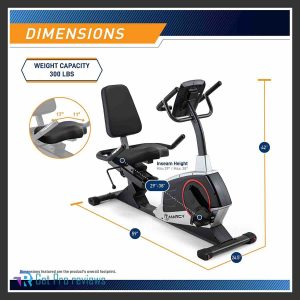 Marcy Regenerating Recumbent Exercise Bike