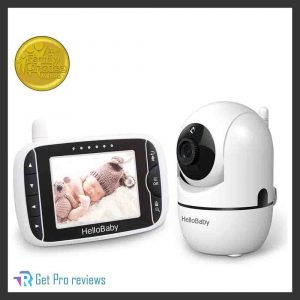Baby Monitor with Remote Pan: