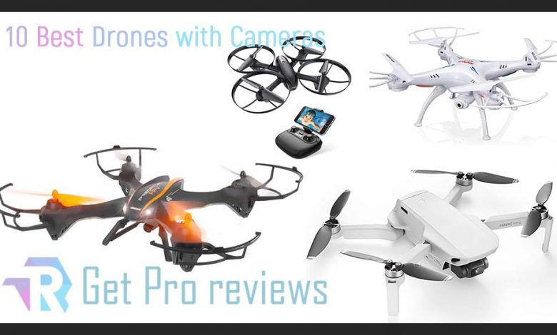 10 Best Drones with Cameras