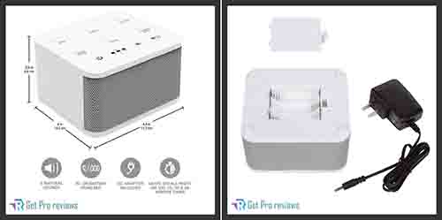 ROOSTER WHITE NOISE SOUND MACHINE
