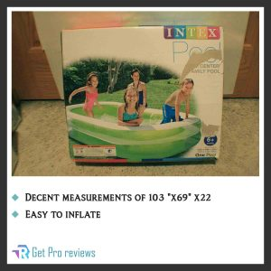 Intex Swim Center 56483EP Inflatable Family Pool