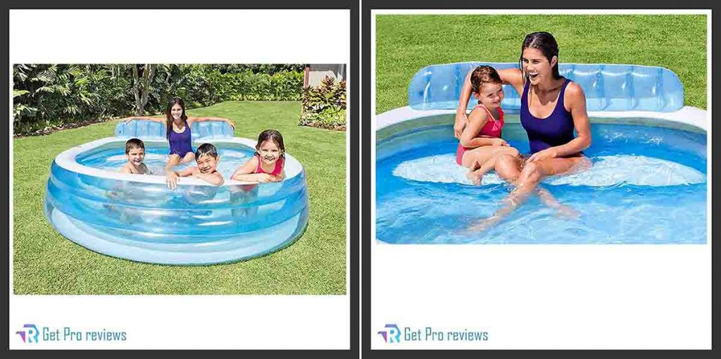 Intex Swim Center Inflatable Lounge Pool for the Family