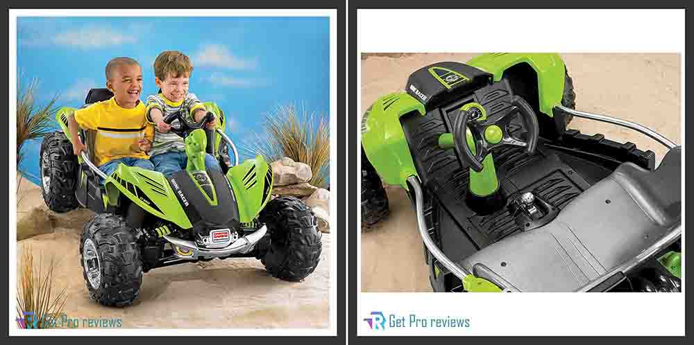 Fisher-Price power wheels Racer kids toy