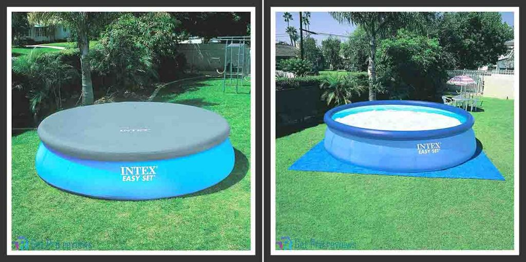 Intex Inflatable Easy Set over Ground Swimming Pool