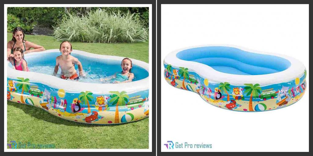 Intex Swim Center Inflatable Paradise Pool