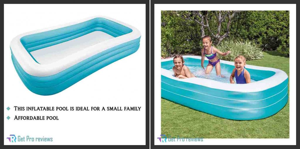 Family Inflatable Swim Center Pool