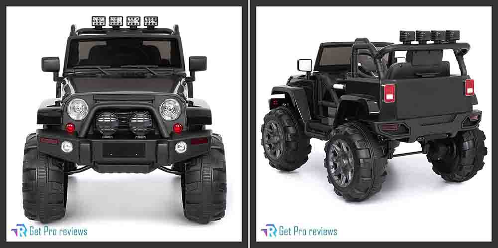 Best Choice Products jeep 12V Powered Ride-on electric car