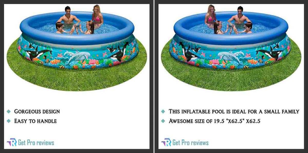 Intex Ocean Reef 10ft X 30in Easy Set Pool
