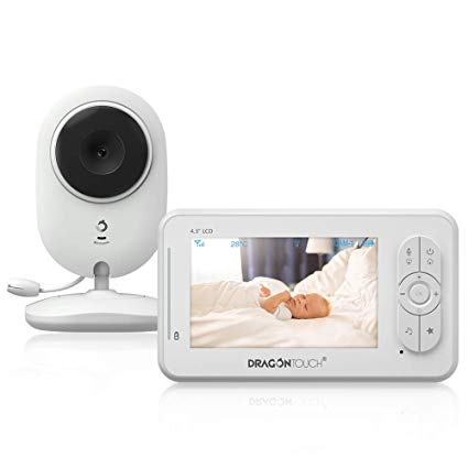 Dragon Touch DT40 4.3 Inch Video Baby Monitor with Camera