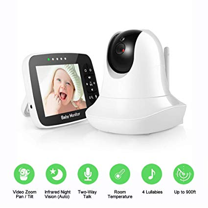 Video Baby Monitor with Camera and Audio