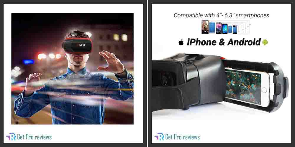 Bnext VR Compatible with iPhone & Android Phone