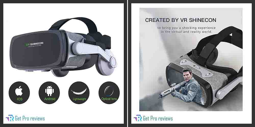 Virtual Reality Headsets with Bluetooth Controller