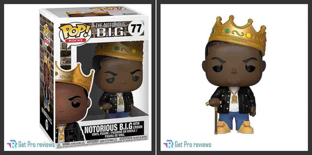 Rocks: Music – Notorious B.I.G. with Crown