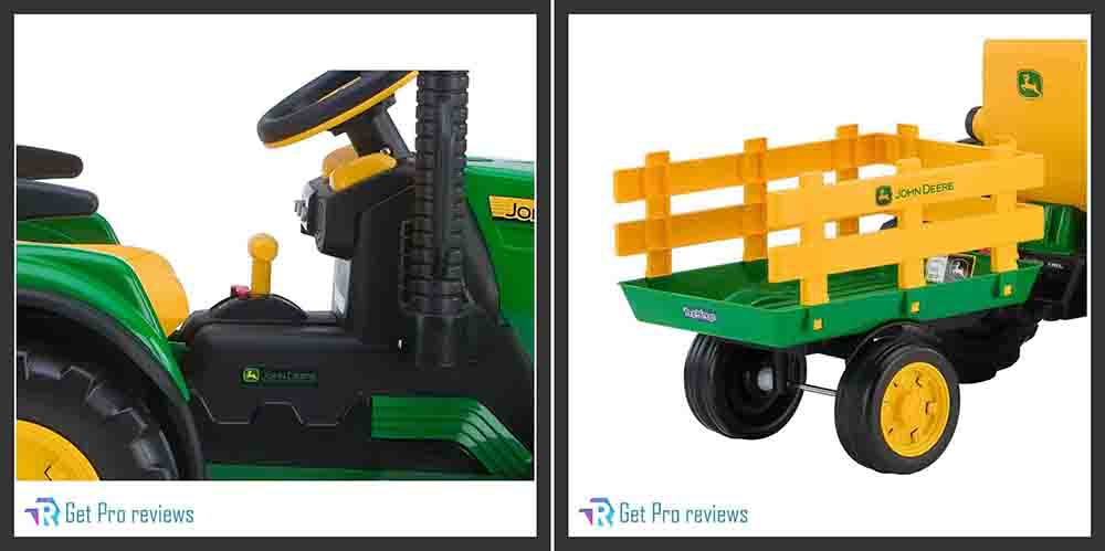 Peg Perego Tractor with Trailer