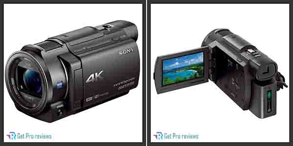 Sony 4k HD video recording FDRAX33