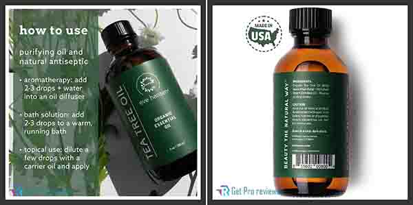 Eve Hansen Organic Tea Tree Oil