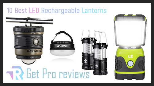Photo of 10 Best LED Rechargeable Lanterns
