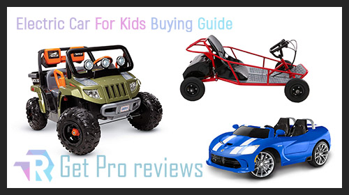 Photo of Electric Car For Kids – Buying Guide