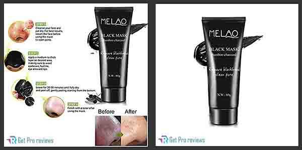Melao Activated Charcoal Peel Off Mask